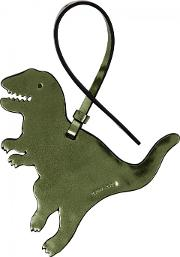 Rexy Green Leather Charm