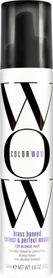 Brass Banned Mousse For Blonde Hair 200ml