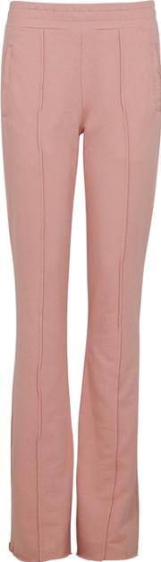 Milan Flared Leg Cotton Trousers