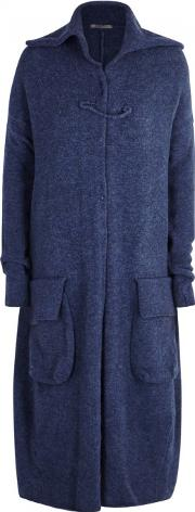 Navy Knitted Cardigan Size 12