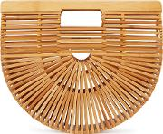 Ark Small Bamboo Clutch