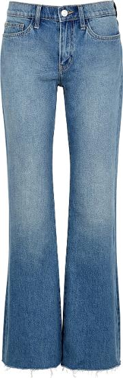 The Wray Blue Flared Leg Jeans