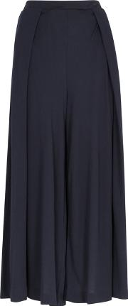 Chantel Wide Leg Jersey Trousers