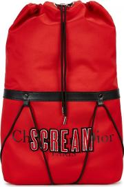 Scream Rouge Red Canvas Backpack