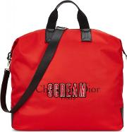 Scream Rouge Red Canvas Tote