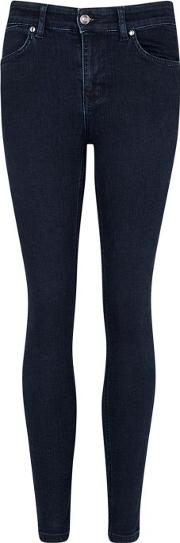 Rizzo Navy Distressed Skinny Jeans