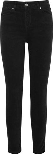 Rizzo The High Top Skinny Velvet Jeans Size W25