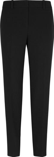Black Tapered Trousers Size 8