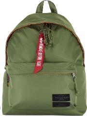 X Alpha Industries Army Green Shell Backpack