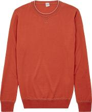 Orange Wool Jumper