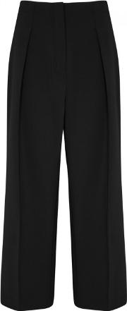 Billie Cropped Wide Leg Trousers Size 8