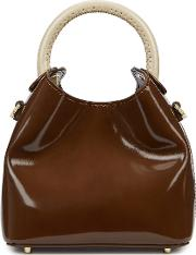 Madeleine Brown Leather Cross Body Bag