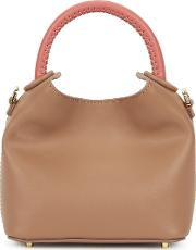 Madeleine Taupe Leather Cross Body