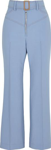 Supervision Blue Flared Trousers