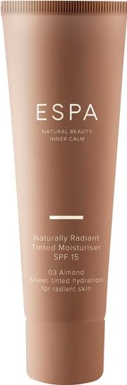 Naturally Radiant Tinted Moisturiser 50ml Colour Almond