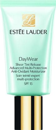 Estee Lauder Daywear Sheer Tint Release Advanced Moisturiser Spf15 50ml