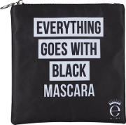 Everything Goes With Black Mascara Cosmetics Case