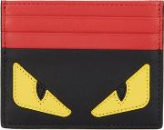 Monster Two Tone Leather Card Holder
