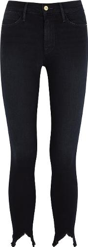 Le High Skinny Cropped Jeans