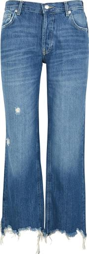 Maggie Blue Straight Leg Jeans