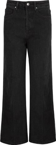Wales High Rise Wide Leg Jeans