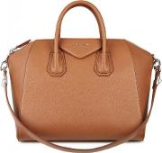 Antigona Medium Tawny Leather Tote