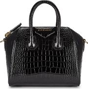 Antigona Mini Leather Top Handle Bag