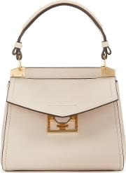 Mystic Small Taupe Leather Top Handle Bag