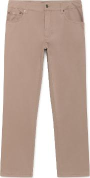 Trinity Regular Fit Cotton Five Pocket Chino Trousers