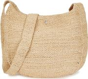 Rhode Sand Raffia Shoulder Bag