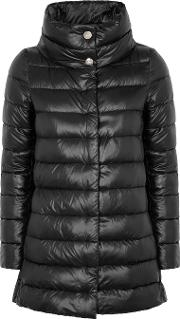 Icon Black Shell Coat