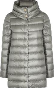 Icon Grey Shell Coat