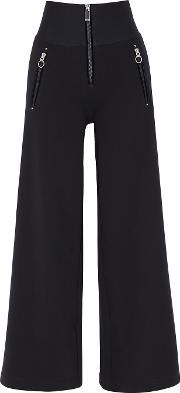 Equity Navy Striped Culottes