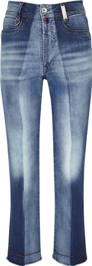 Up Start Faded Straight Leg Jeans