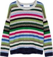 In. No Lola Striped Mohair Blend Jumper