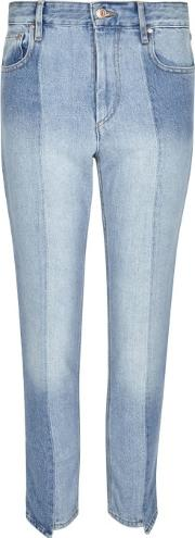 Clancy Two Tone Cropped Jeans