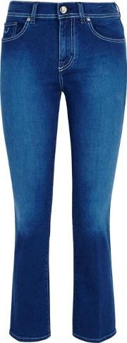Robin Cropped Kick Flare Jeans