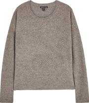 Taupe Boucl Cashmere Jumper Size 1