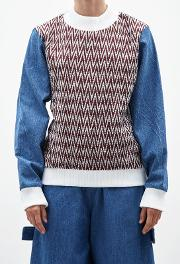 Connor Denim Jumper Blue