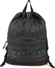 X Briefing Black Nylon Backpack
