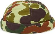 Camouflage Cotton Peakless Cap