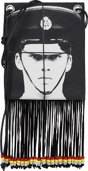 Gilbert & George Printed Fringed Pouch