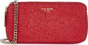 Margaux Red Leather Cross Body Bag