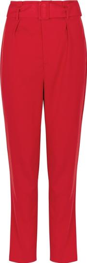 Daylight Red Tapered Leg Trousers