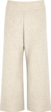 India Cropped Cashmere Trousers