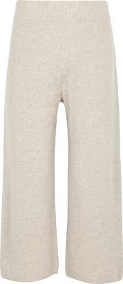 India Wide Leg Cashmere Trousers