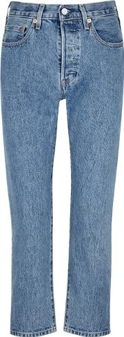 501 Cropped Selvedge Jeans