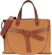 Gate Brown Leather Tote