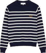 Bonjour Striped Wool Jumper