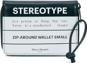 Stereotype Printed Leather Wallet